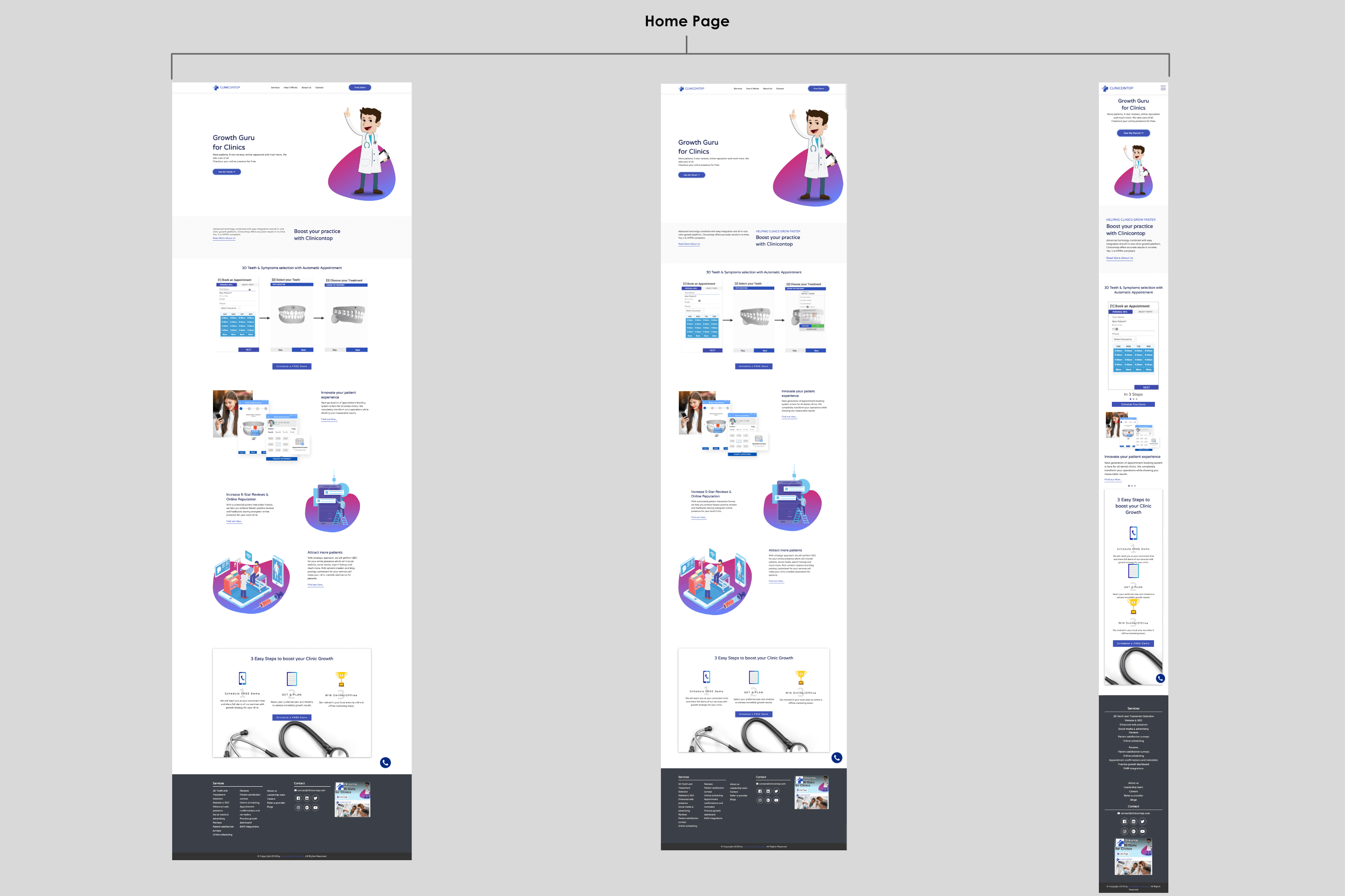 High Fidelity Wireframes Image